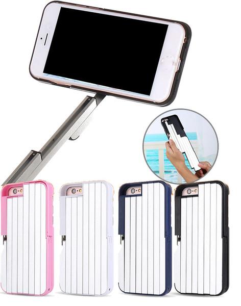 Mobile phone Cases camera Bluetooth remote control camera portable aviation aluminum alloy self-timer