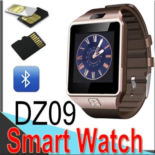 top popular DZ09 smartwatch android GT08 U8 A1 for samsung smart watches SIM Intelligent mobile phone watch can record the sleep state Smart watch 2019