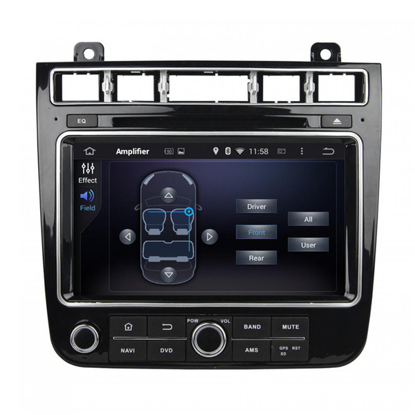 Car DVD player for Volkswagen TOUAREG 2015-2016 Free shipping 8-core 8inch Andriod 8.0 with GPS,Steering Wheel Control,Bluetooth,Radio