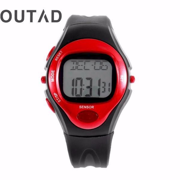 Orologio da polso cardiofrequenzimetro da polso Orologio da polso digitale Orologio da polso Calendario Orologio Time Relogio