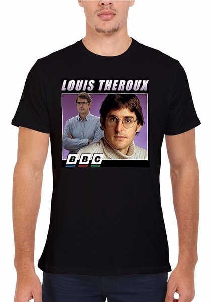 Louis Theroux BBC Inspired Funny Men Women Vest Tank Top Unisex T Shirt 1894
