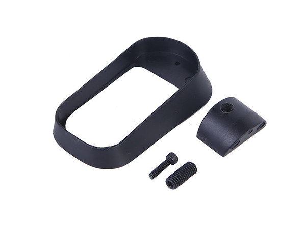 best selling hot sell IPSC Tactical nylon Made Horseshoe grip fits G17 G19 MAGs Adapter black