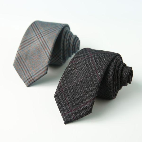 Mens Britain Fashion Designer High Quality Mens Neck Tie Gravatas Skinny Slim 6cm Ties for Business 30pcs/lot
