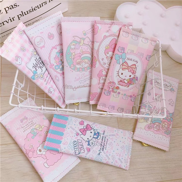 New My Melody Hello Kitty Little Twin Stars Pencil Case Makeup Cosmetic Bag Phone Bag Stationery Pouch Storage Organizer