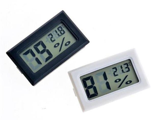 100 unids / lote Envío Gratis LCD Digital Termómetro Higrómetro Temperatura Humedad probador Refrigerador Congelador Medidor Monitor SN1074