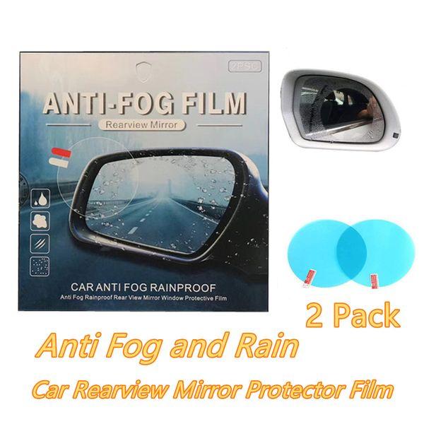 Auto-Rückspiegel Anti-Fog-Film Regendicht Klar Auto Spiegel Protective Film