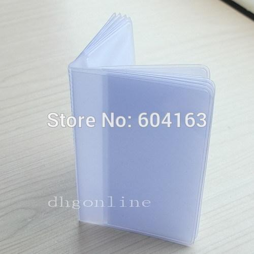 3 PCS Wallet insert Billfold Inserts For Credit ID Card badge Picture Holder