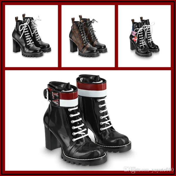 18ss 6 style Women's luxury ankle boots, women's ankle boots, designer women's casual stretch boots,size:35-41