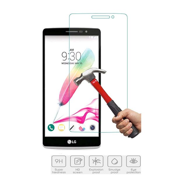 For LG G4 BEAT Screen Protectors for XiaoMi Mix 2S Tempered Glass 2.5D Hardness 9H Anti-Bubble Anti-Scratch Paper Package