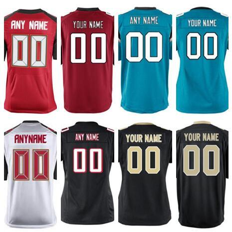 finest selection 44c20 6c65d 2019 2018 Personalized American Football Jerseys Atlanta Tampa Bay Saints  Buccaneers Falcons Panthers Custom Salute To Service Color Rush Jersey From  ...