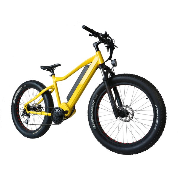 top popular Drop shipping USA CANADA 48V1000W electric fat tire bike with bafang BBSHD mid drive motor 2020