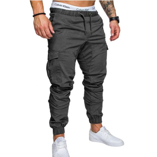 2018 Pantalons de jogging Hommes Pantalons de jogging pour la course à pied Pantalons de survêtement de sport Collants de fitness Gym Pantalons de survêtement Pantalons de survêtement
