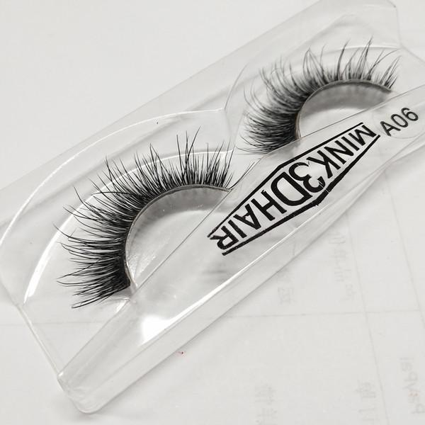 Seashine high quality 3d premium mink fur strip eyelash 3D mink eyelashes false lashes free shipping