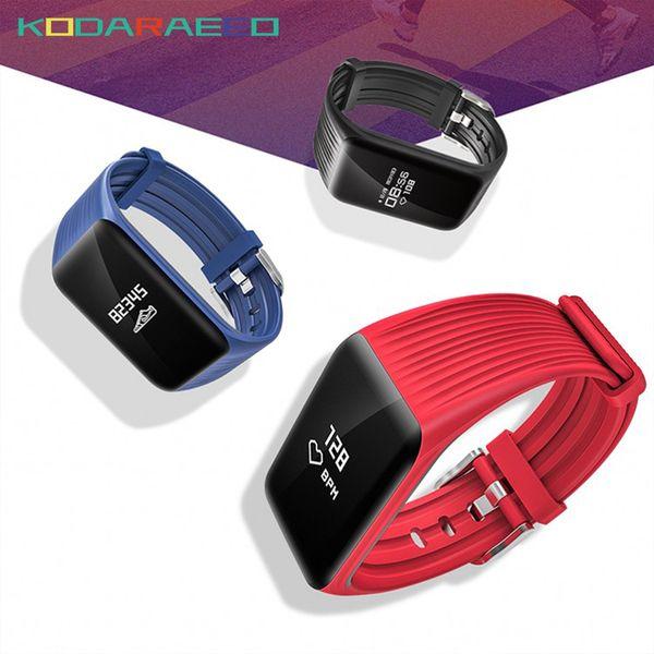 K1 Sport Smart Watch Activity Tracker Men Heart Rate Tracker Call Reminder Smart Bracelet Band for Running Sport band