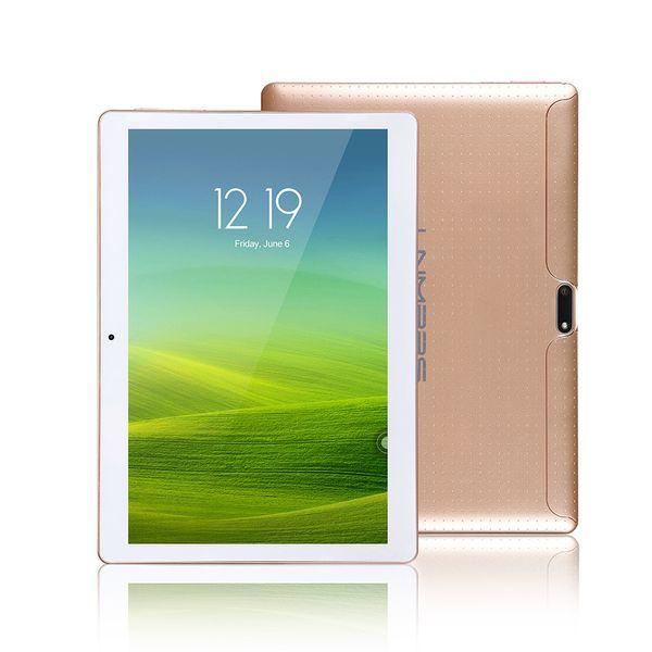 LNMBBS 10.1 pulgadas Tablet android7.0 tabletas robustas octa core 4g LTE 1920 * 1200 IPS Phablet 4 + 32G sims kid gamesde jeux mtk8752