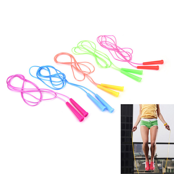 HOHE QUALITÄT 2,4 m Speed ​​Wire Skipping einstellbare Springseil Fitness Sport Übung Cross Fit