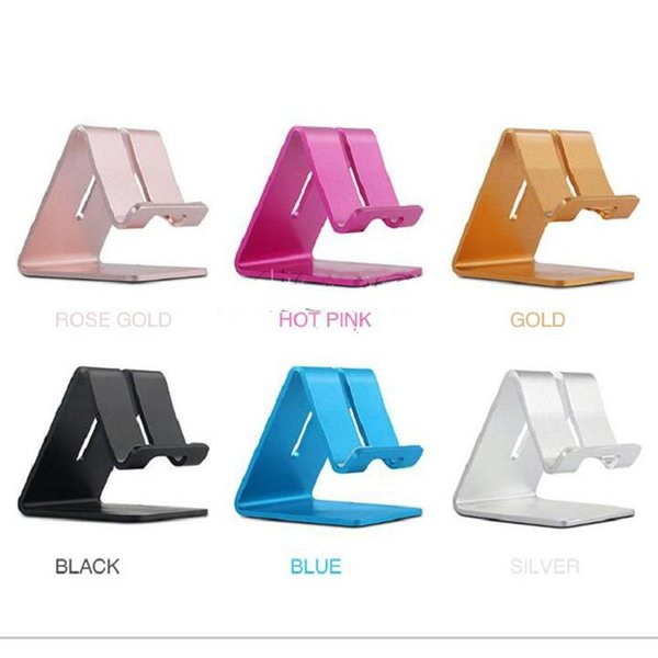 Universal Metal Mobile Mate Cell Phone Tablet PC Holder Cheap Phone Desk Stand Holders for iPad iPhone Samsung LG Huawei High Quality