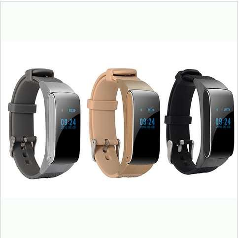 Hot Smart Band Talkband Bluetooth Watch Bracelet DF22 Portable Talk Smartband Pedometer Active Fitness Tracker For IOS Android Phone withbox