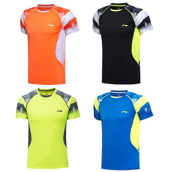 best selling New Li Ning men women badminton sportwear t-shirt,competition clothes,lining badminton shirts ,table tennis jersey,tennis shirts
