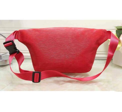 top popular luxury men bags Unisex Men Women leather Sport Runner Fanny Pack Belly Waist Bum Bag Fitness Running Belt Jogging Pouch free shopping. 2019