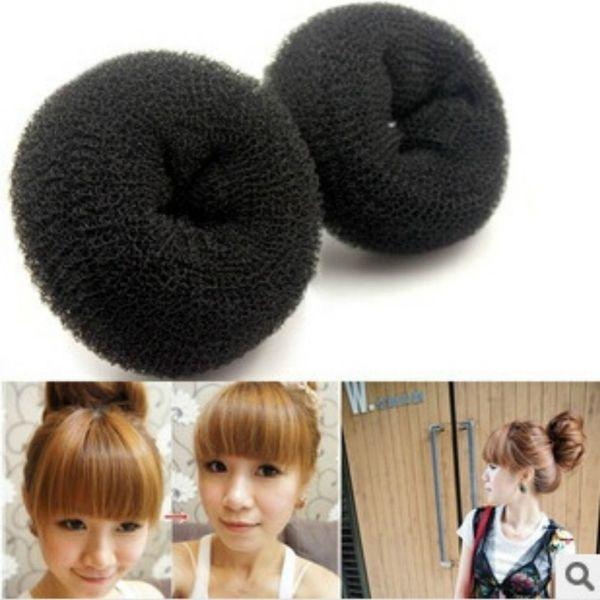 1PC Fashion New Hot Fashion Elegant Women Ladies Girls Donut Shape Ring Bun Styling Tool Accessories S M L