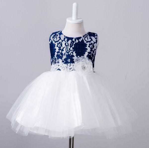 Compre Vestido De Bautizo De Bebé Niños Vestido De Bautizo De Bebé Un Año Completo Vestidos De Tutú De Cumpleaños Para Niñas Ropa 0 2 Años Vestidos A
