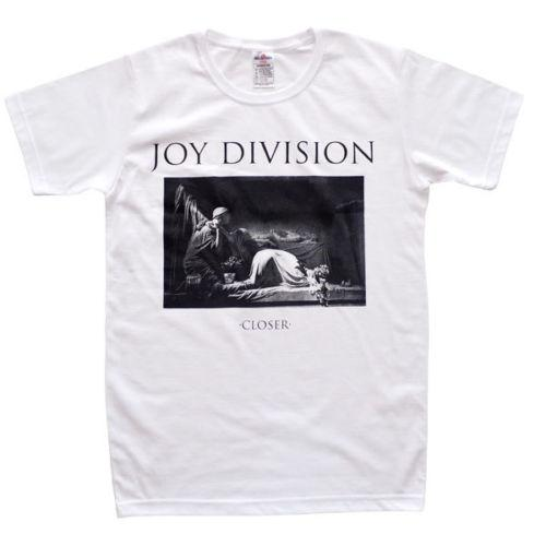 Official Joy Division - Closer - T-shirt blanc pour hommes US IMPORT