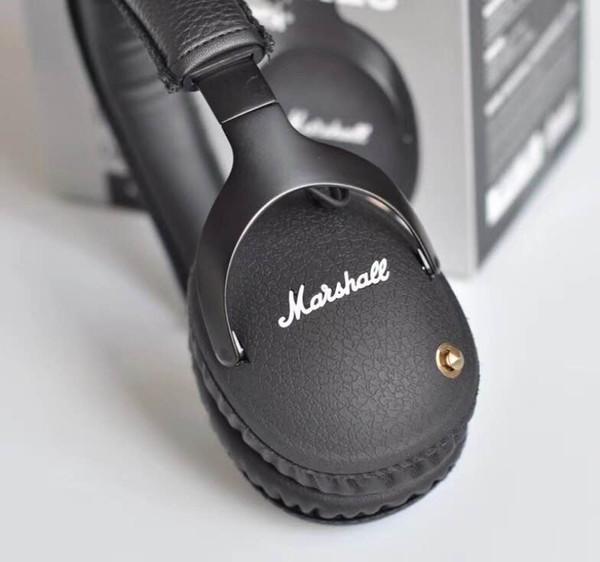 Marshall MONITOR Headphones Noise Cancelling Headset Deep Bass Studio Monitor Rock DJ Hi-Fi Guitar Rock wireless headphone Earphone Major