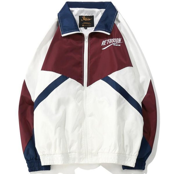 European and American Men's Jackets Fall 2008 New Hip-hop Loose Trench Sports Suit Manufacturers Wholesale and Retail