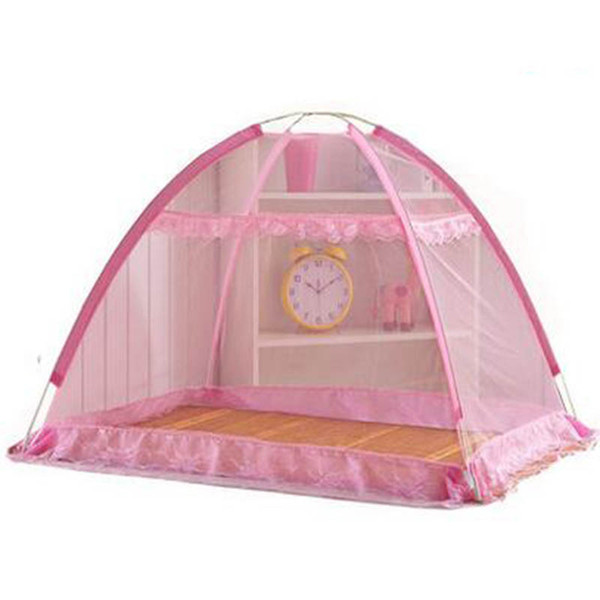 Portable Mosquito Net For Baby Bed Canopy Cribs Cover klamboe Tent Floded Free installation Insect net Mosquiteros para cama