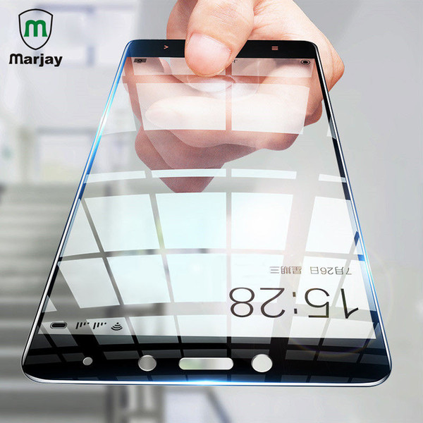 Marjay Full Cover Tempered Glass For Redmi 4A 5A Note 4X Screen Protector For xiaomi mi a1 note 3 mix 2 6x Protection Glass Film