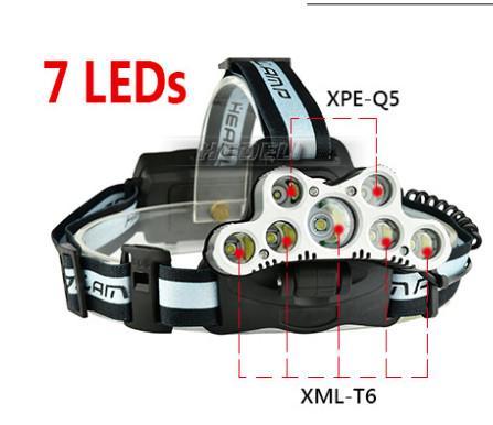 7 LEDS