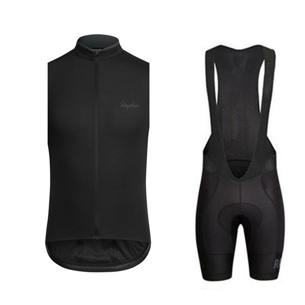 Weste schwarze Trägerhose Sets