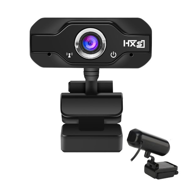 S50 Web Camera 720P HD Computer Camera Webcams 360 Degree Rotation With Microphone For Desktop PC Laptop