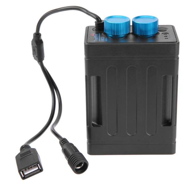 5V Power Bank 6x18650 Baery Pack Case Power Bank Box 8.4V Bicycle Lights Baery Pack Case for Bicycle Light Mobile Phone NEW