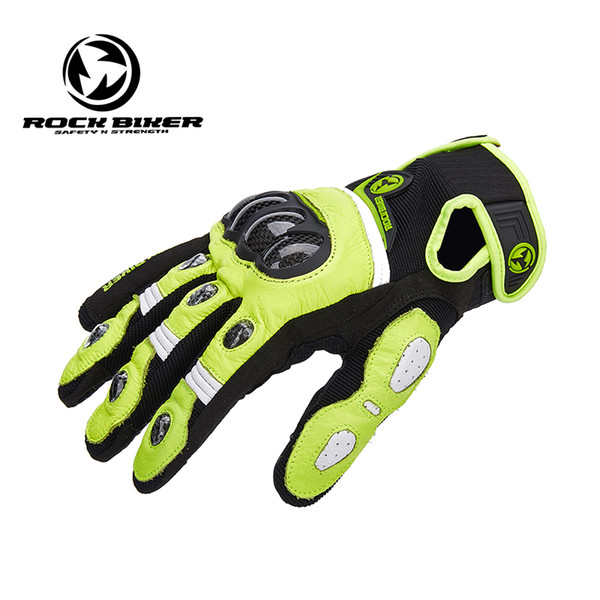 Rock Biker Motocycle gloves women Moto gloves XXL leather guantes para moto mujer Touch Screen Motocross off road gloves