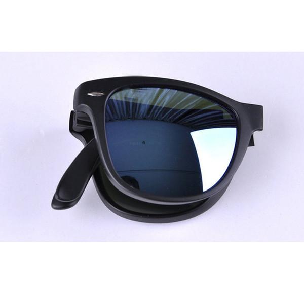 Hot sale sunglasses with high qualityAK4105 Fold Classical Sunglasses 601 601s shiny Matte Black 710 Tortoise frame G15 Green Brown lens man