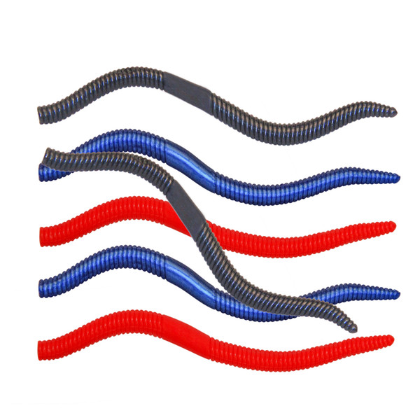 5pcs 5.5inch Fishing Senko Worms Lure Soft Fishing Bait Soft Lures Fishing Tackle Bait Accessories