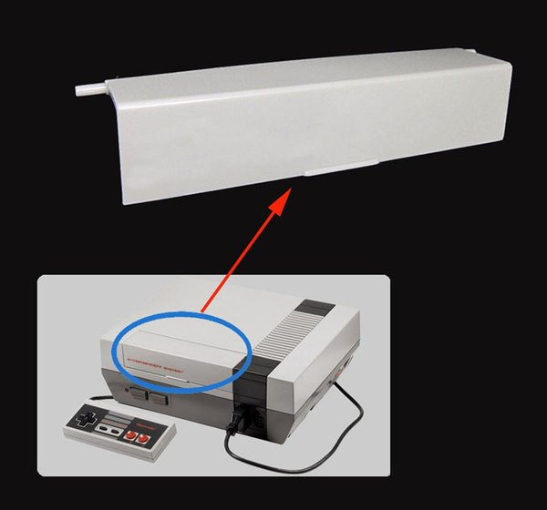 Repair Flip Top Door Cover Part Replacement Lid Case Protector for NES Video Game Console DHL FEDEX EMS FREE SHIPPING