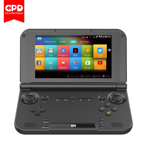best selling New Original GPD XD Plus 5.5 Inch 4 GB 32 GB Android 7.0 CPU MT8176 Hexa-core Handheld Game Console Laptop ( Black )