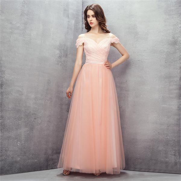 Платье с открытыми плечами Вечерние платья Robe De Soiree Длина пола Sweet 16 Выпускное платье Длинное платье для выпускного вечера LG0219