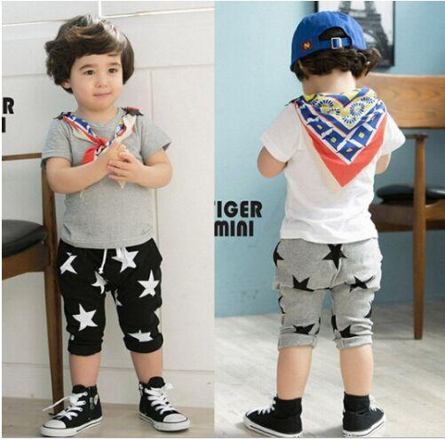 Boys Pants Five Star Children Harem Pants For Girls Boy New Fashion Toddler Child Trousers Baby Clothes