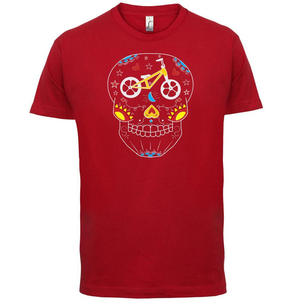 Cycle Day Of Dead - Mens T-Shirt - Recreation / Tv Show / Sitcom
