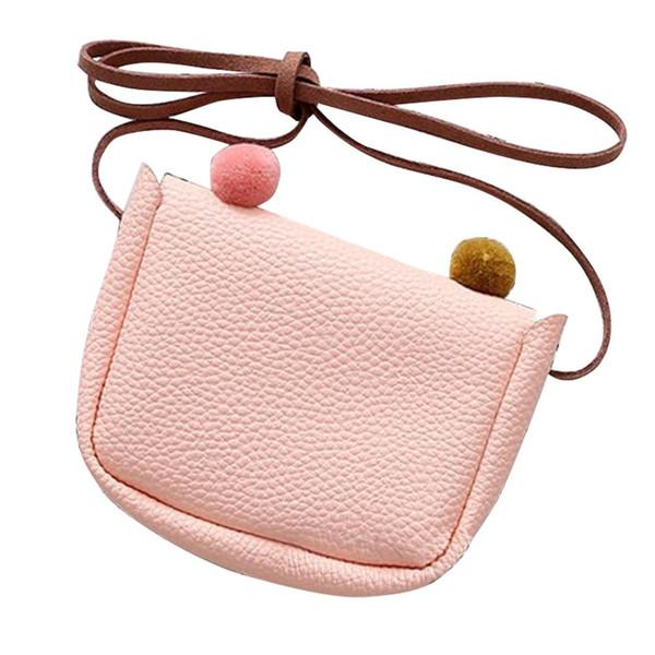 58c4995d359 Laamei Mini Cute Cat Ear Shoulder Bag Kids All-Match Key Coin Purse Cartoon  Lovely