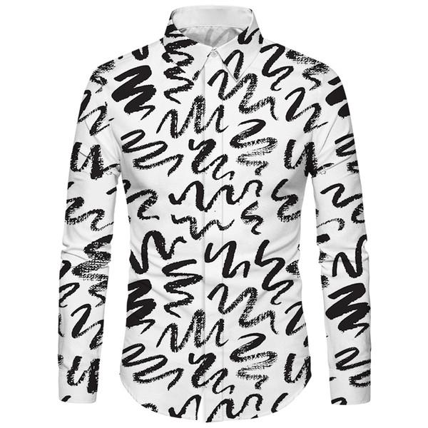 Cloudstyle 3D Serpent Imprimé Chemises Pour Hommes Chinois Vêtements De Soie Camiseta Masculina Mode Casual Chemise Hawaïenne Régulière Homme 5XL