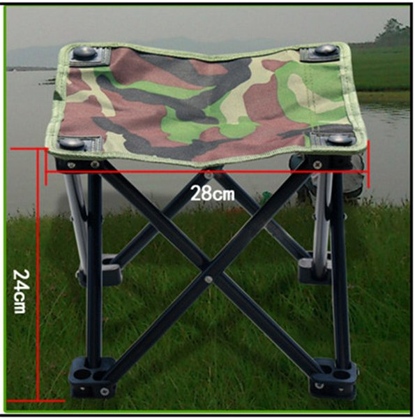Tremendous Easy Carry Mini Beach Folding Chair Camp Furniture Outdoor Fishing Stool Hiking Camping Gargden Portable Chair With Bag Camouflage Folding Stool Inzonedesignstudio Interior Chair Design Inzonedesignstudiocom