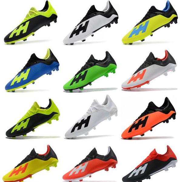 b83adcf8 2018 nuevos hombres Mercurial Predator 18.3 FG Messi FG CR zapatos de fútbol  de alta calidad