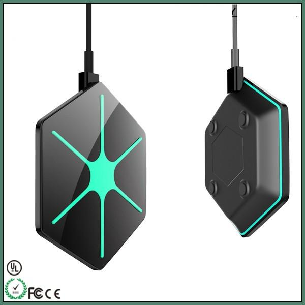 2018 desktop wireless charger for iphone 6/6 plus, office table wireless charger for all mobile phone