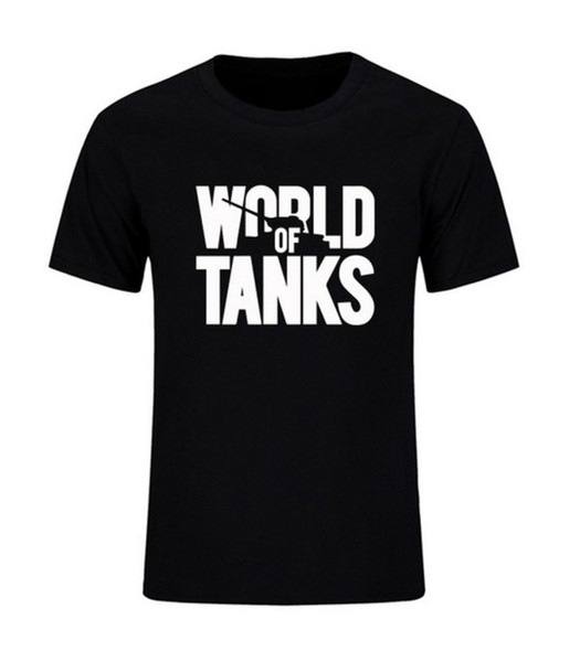 New Summer Style Funny World Of Tanks War Ii T-shirt Men Short Sleeve T Shirts Fashion Brand Streetwear Hip Hop Top Tees