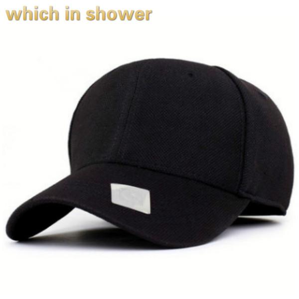 casquette ajustée blanc pour hommes solide casquette de baseball hip hop printemps automne chapeau de relance occasionnel vieux mâle drop drop expédition